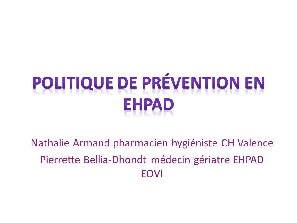 Politique de prévention en EHPAD