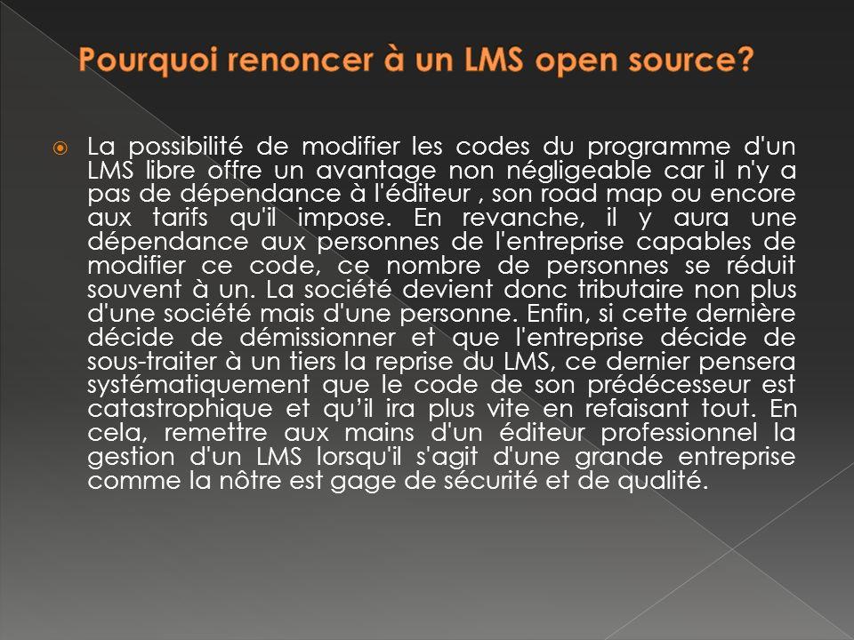 Pourquoi renoncer à un LMS open source