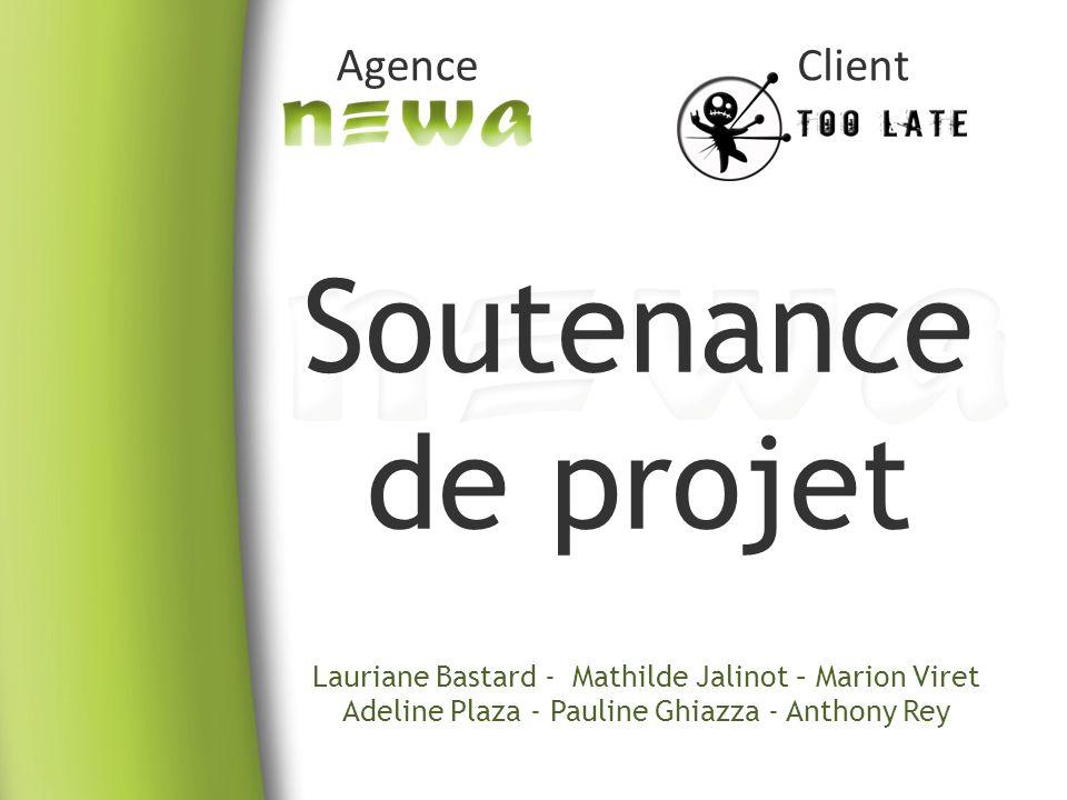 Soutenance de projet Agence Client
