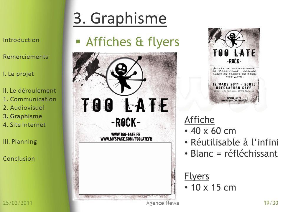 3. Graphisme Affiches & flyers Affiche 40 x 60 cm