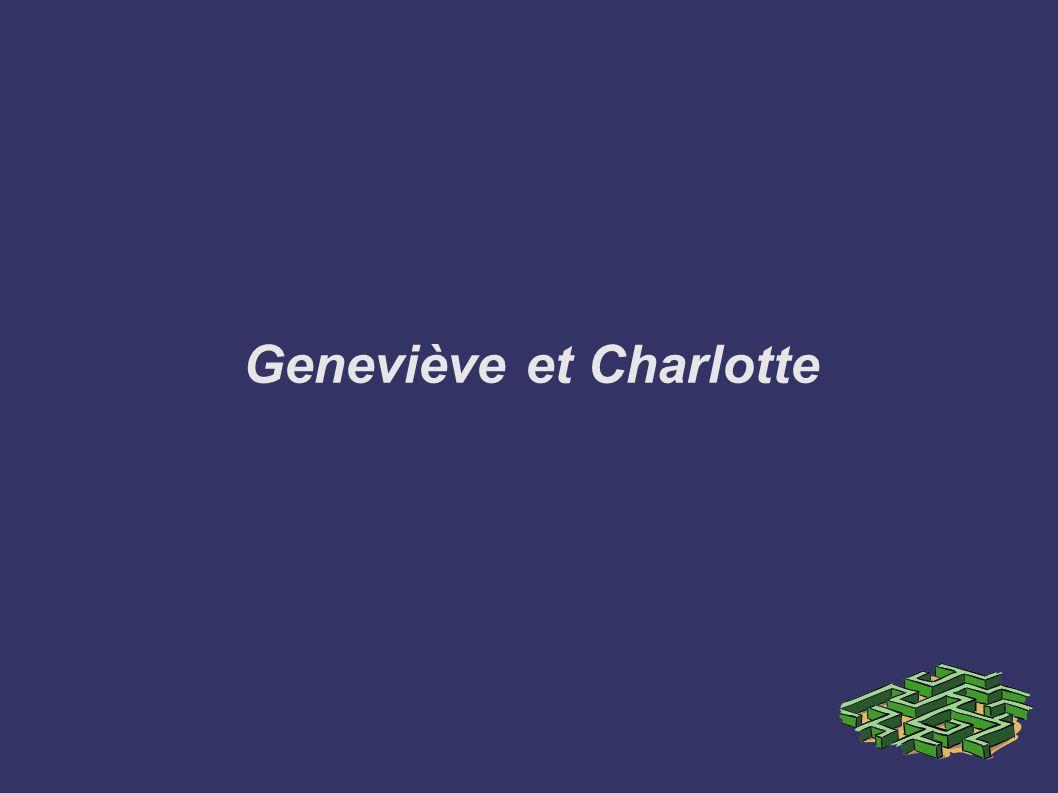 Geneviève et Charlotte