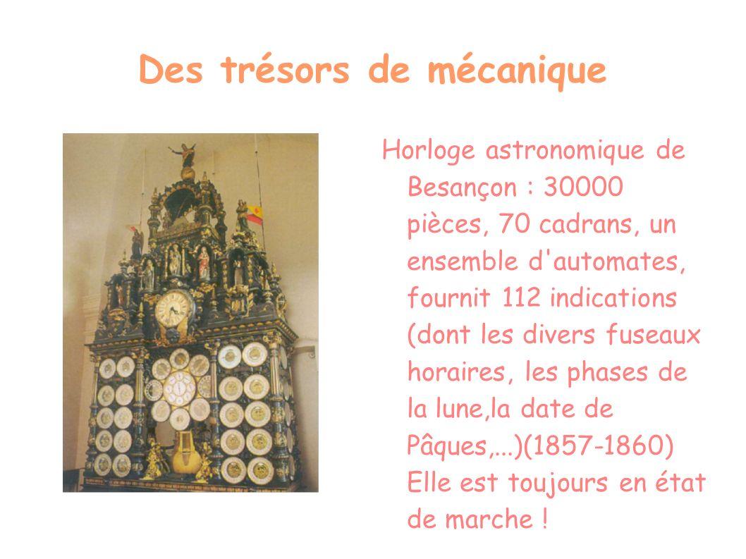 Des trésors de mécanique
