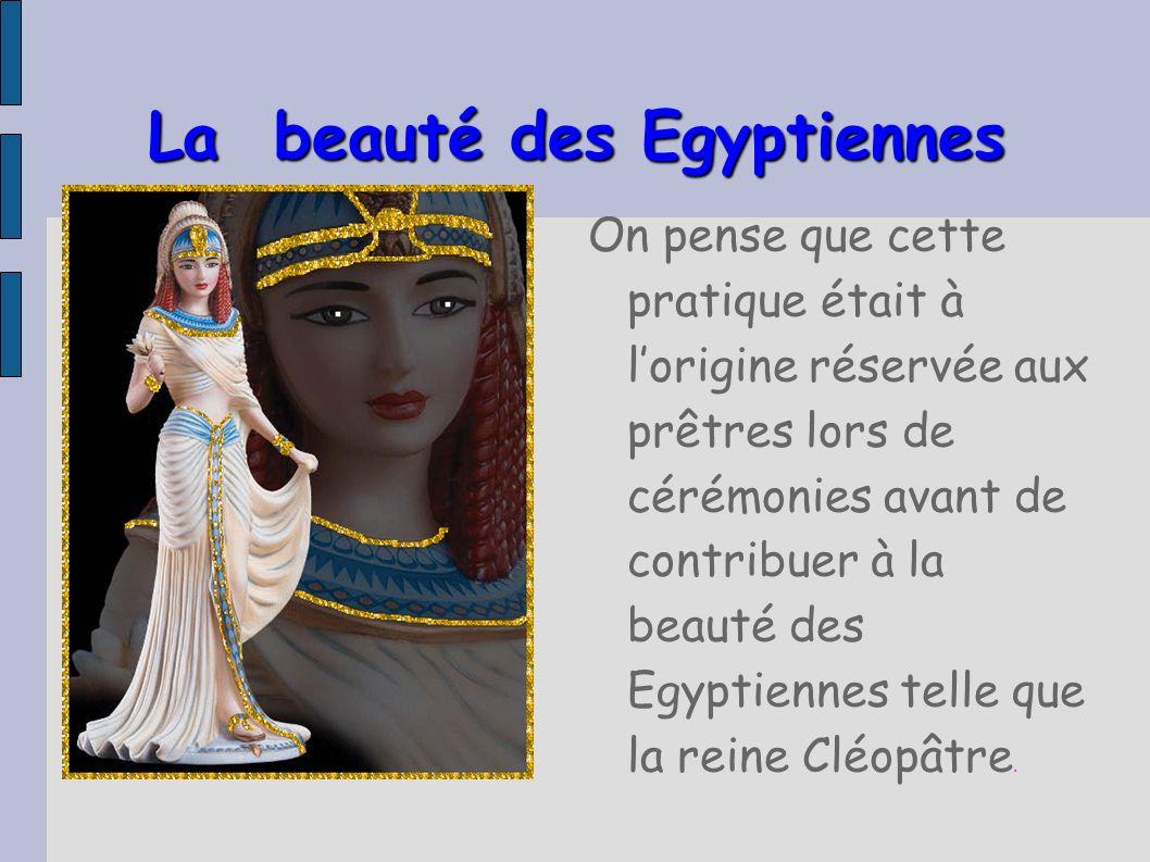 La beauté des Egyptiennes