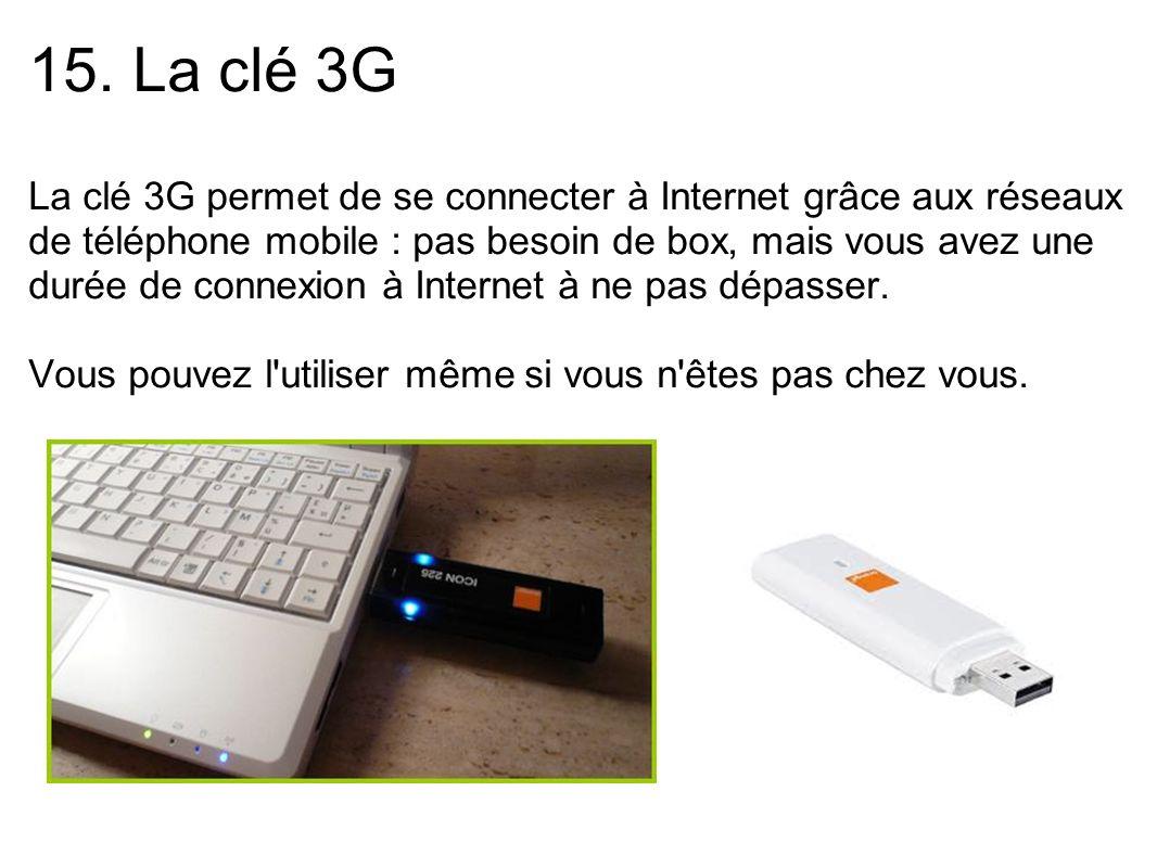 15. La clé 3G