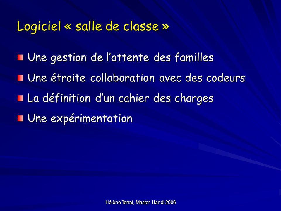 Logiciel « salle de classe »