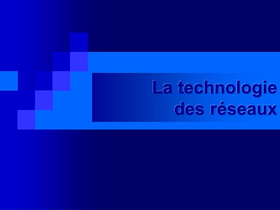 La technologie des réseaux