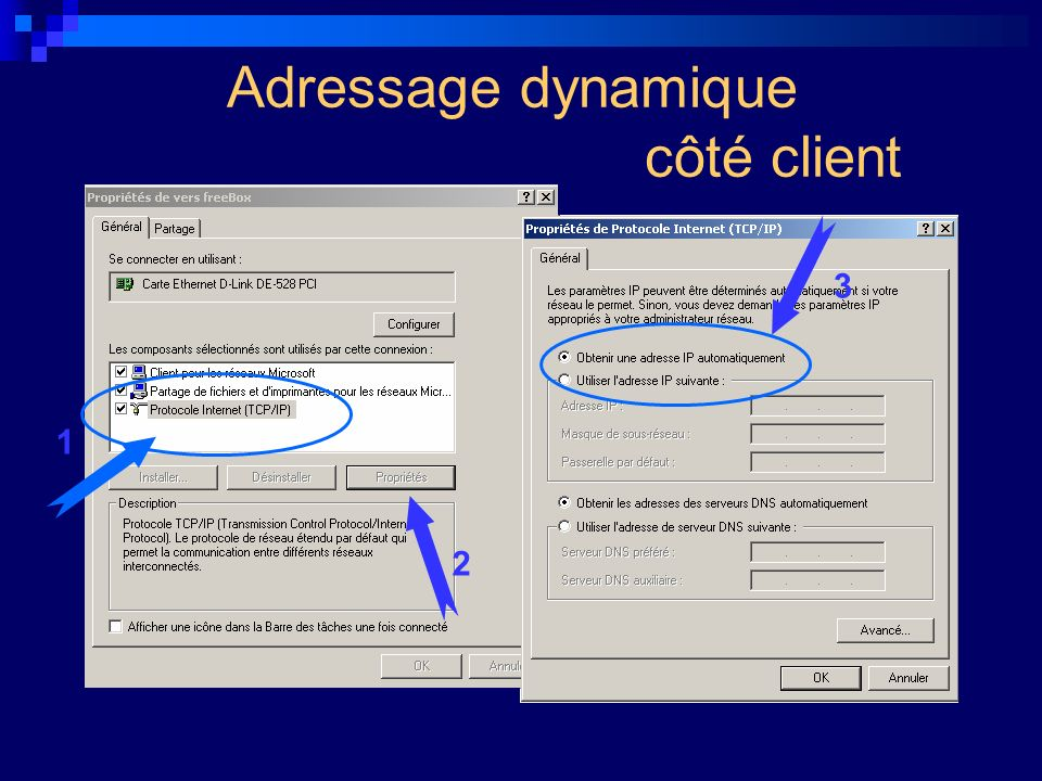 Adressage dynamique côté client
