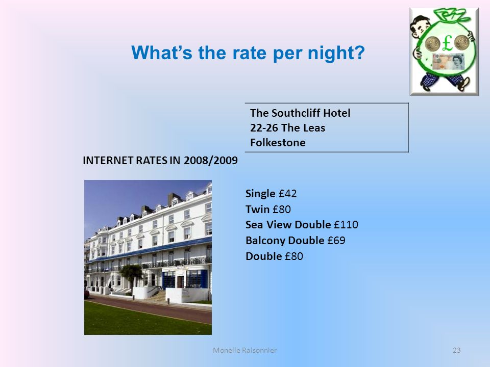 What's the rate per night