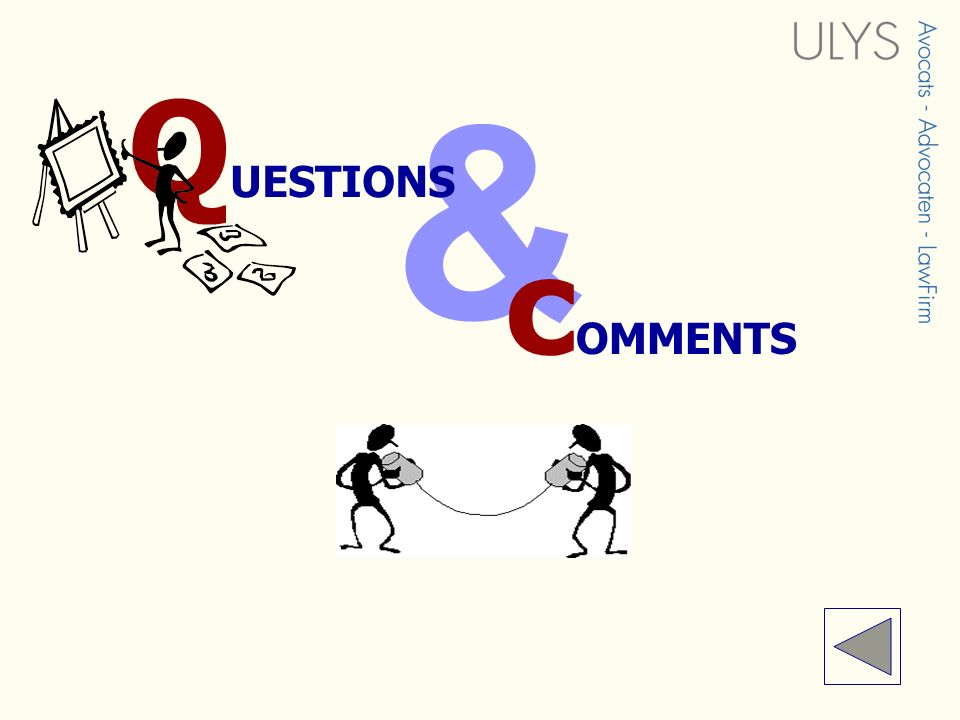 & QUESTIONS cOMMENTS