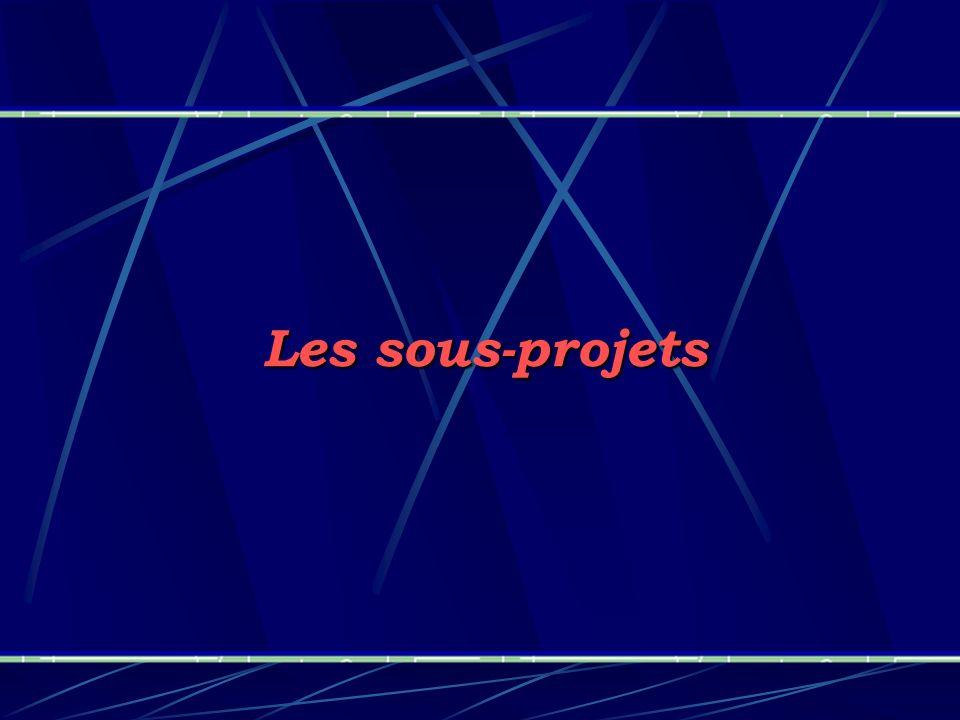 Les sous-projets