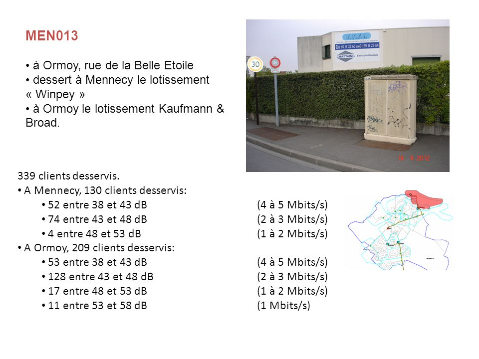 MEN013 à Ormoy, rue de la Belle Etoile
