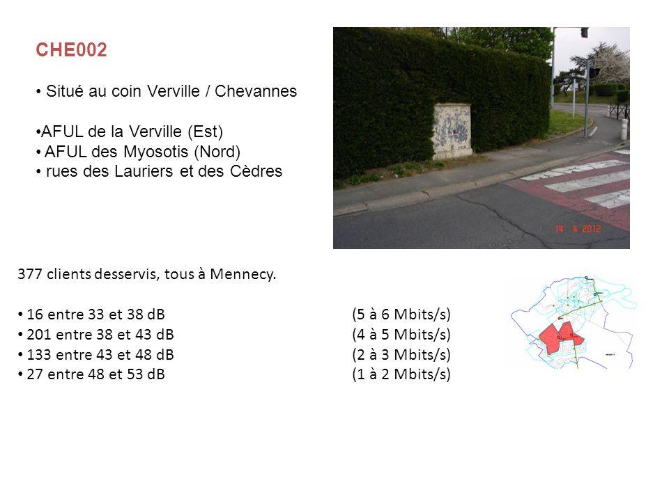 CHE002 Situé au coin Verville / Chevannes AFUL de la Verville (Est)