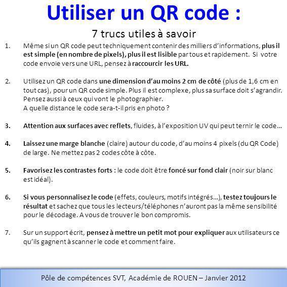 Utiliser un QR code : 7 trucs utiles à savoir