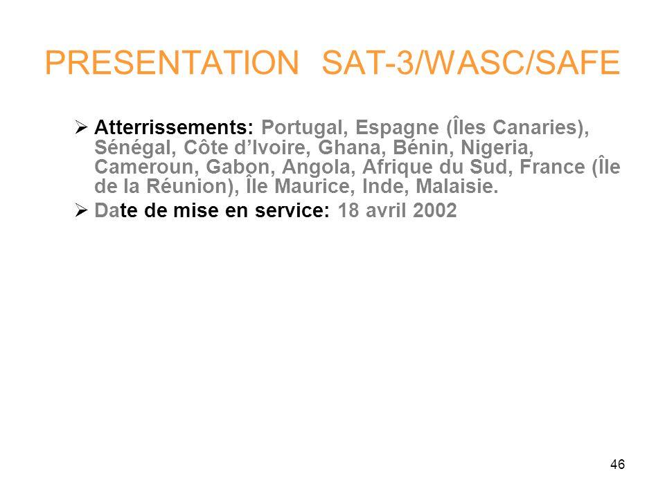 PRESENTATION SAT-3/WASC/SAFE