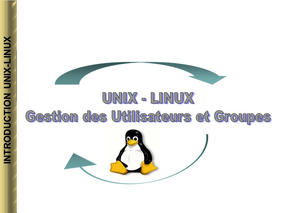 INTRODUCTION UNIX-LINUX