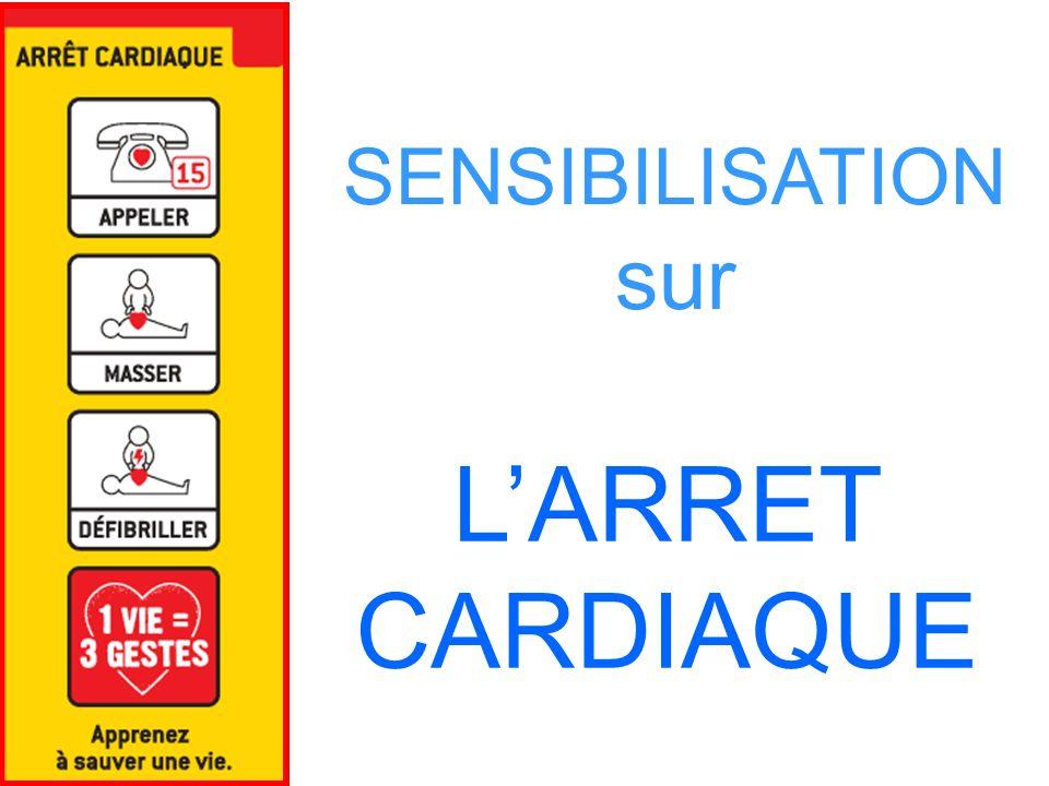 L'ARRET CARDIAQUE SENSIBILISATION sur