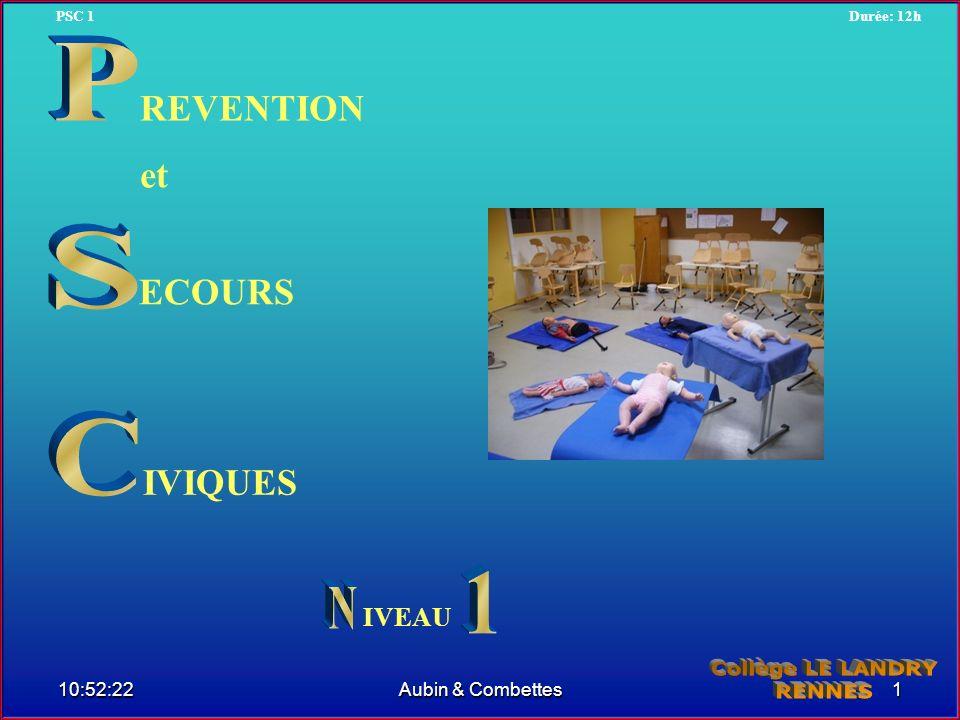 P S C 1 REVENTION et ECOURS IVIQUES N Collège LE LANDRY RENNES IVEAU