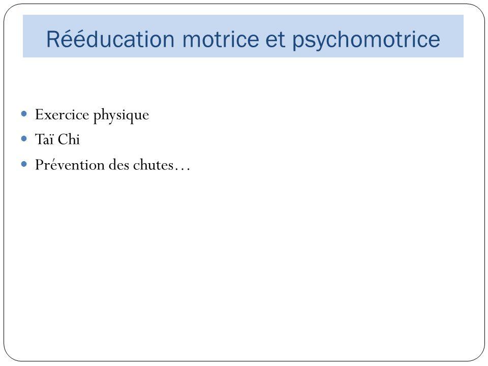 Rééducation motrice et psychomotrice