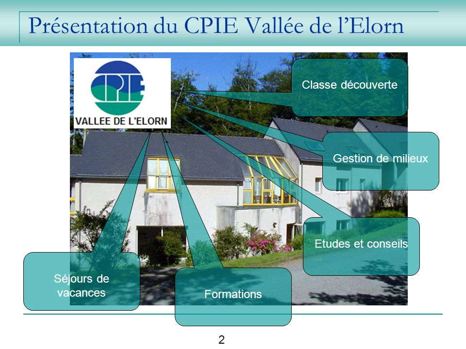 Présentation du CPIE Vallée de l'Elorn