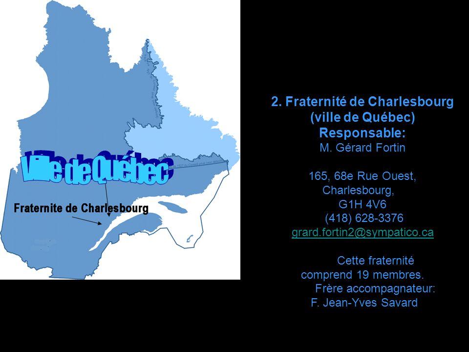 2. Fraternité de Charlesbourg