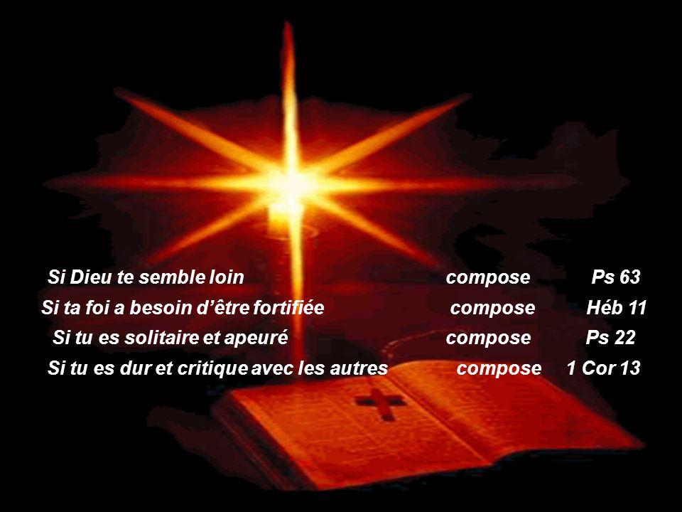 Si Dieu te semble loin compose Ps 63