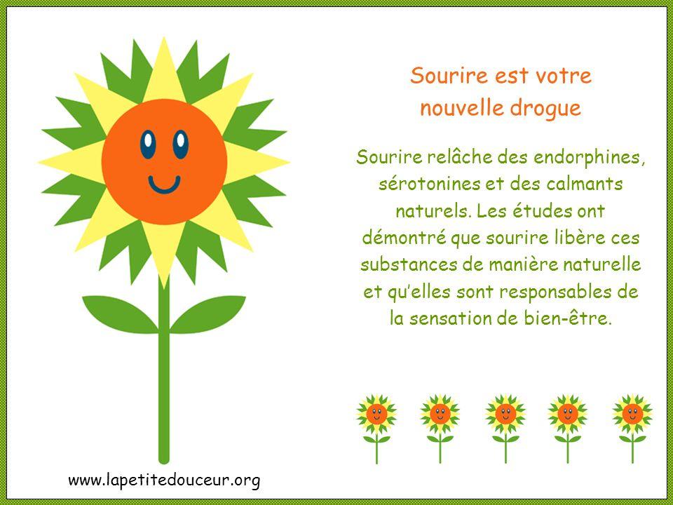 Sourire est votre nouvelle drogue
