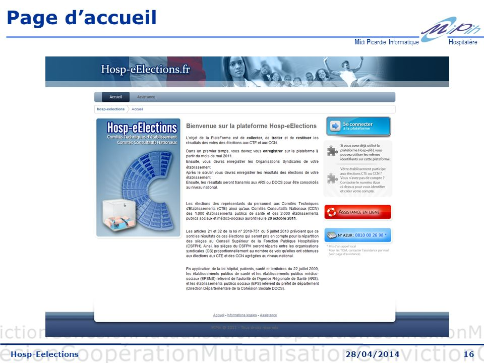 Page d'accueil Hosp-Eelections 30/03/2017