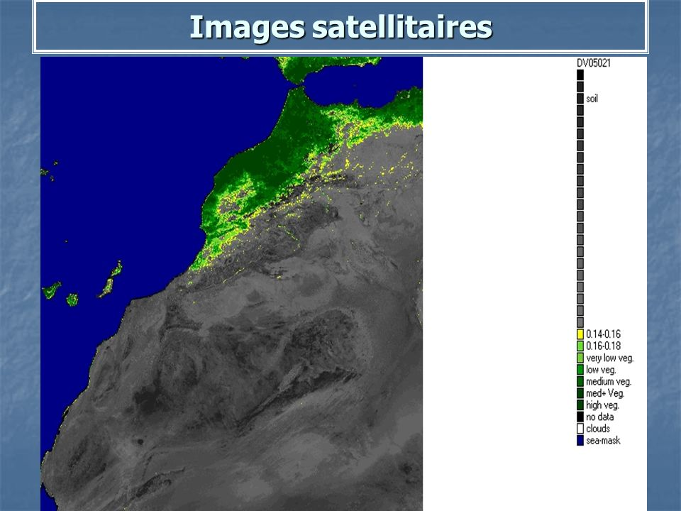 Images satellitaires