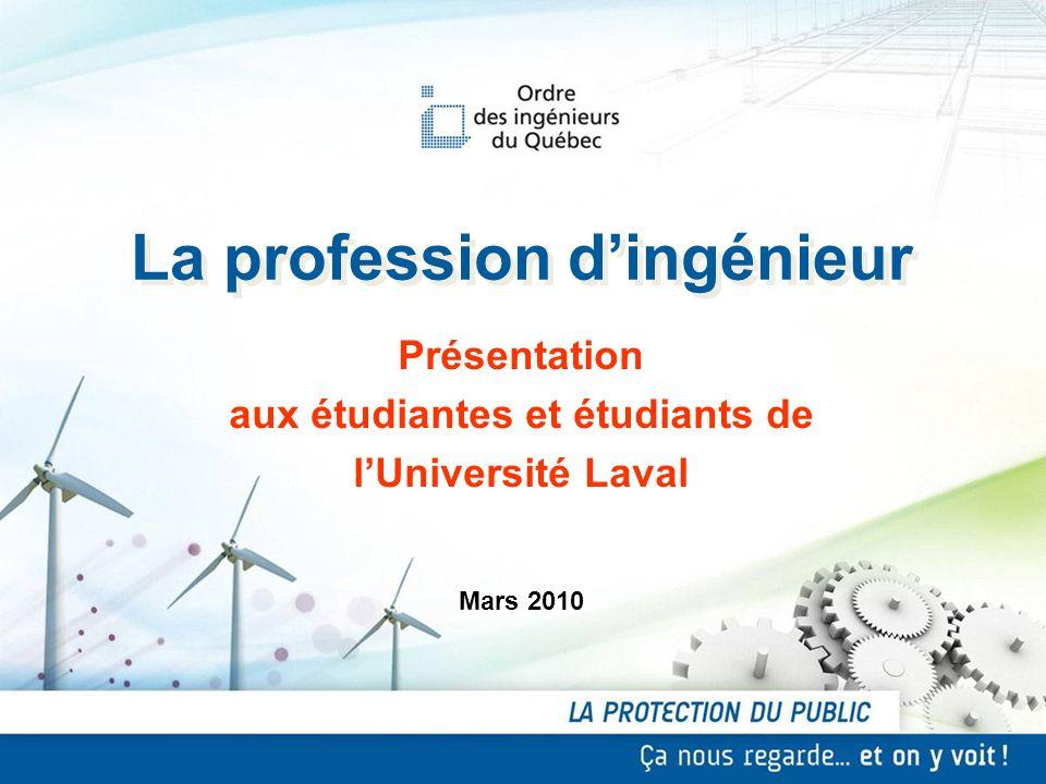 La profession d'ingénieur aux étudiantes et étudiants de
