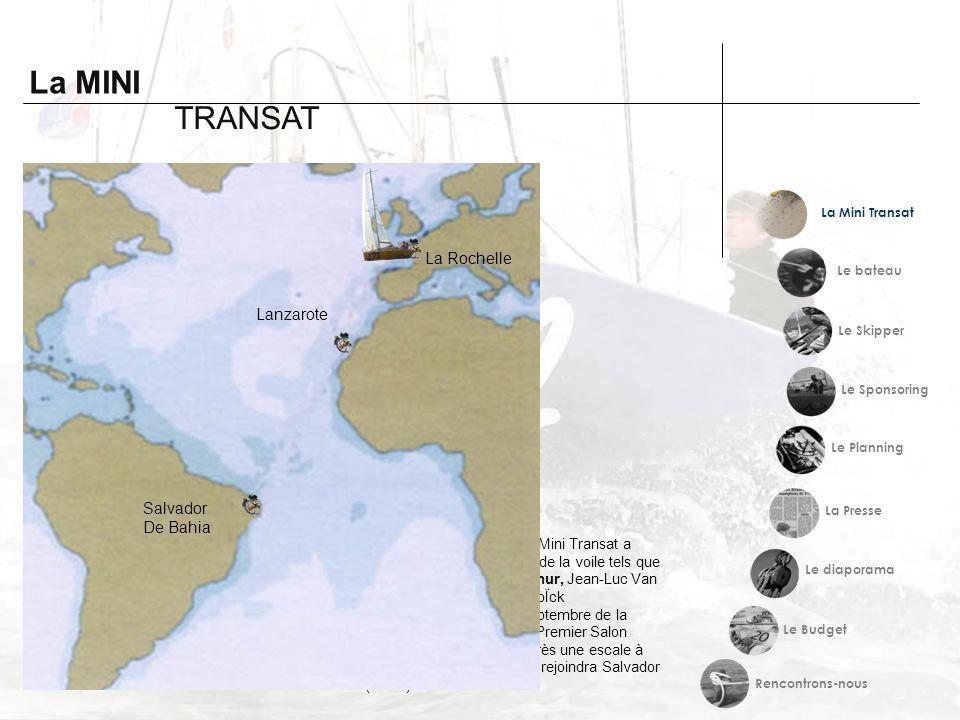 La MINI TRANSAT Histoire Et devenir La Rochelle Lanzarote Salvador