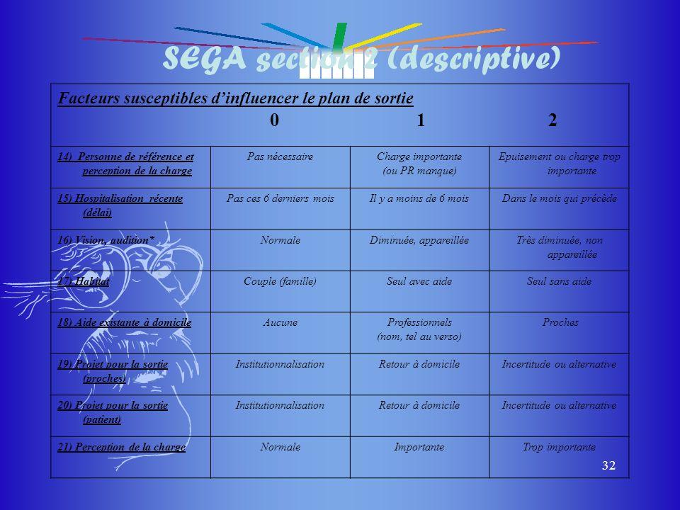 SEGA section 2 (descriptive)