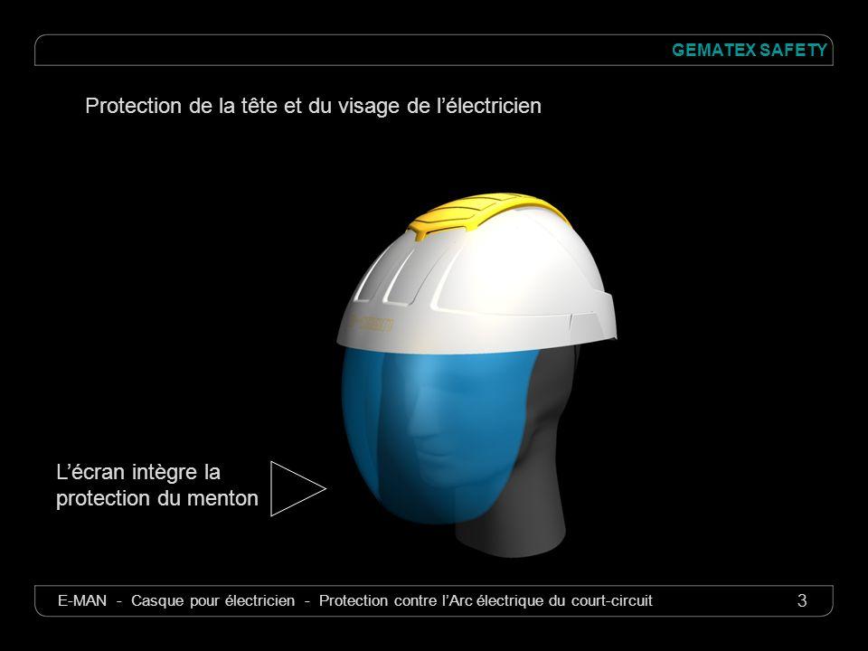 Protection de la tête et du visage de l'électricien