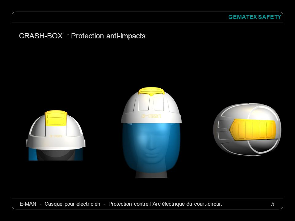 CRASH-BOX : Protection anti-impacts