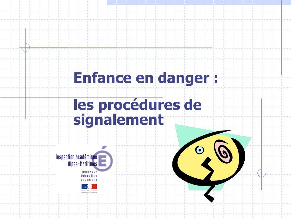 Enfance en danger : les procédures de signalement