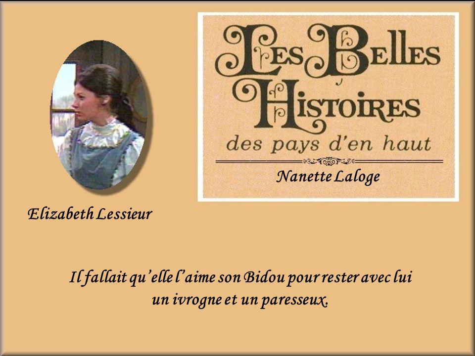 Nanette Laloge Elizabeth Lessieur.
