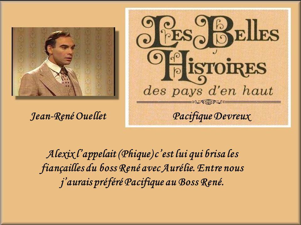 Jean-René Ouellet Pacifique Devreux.