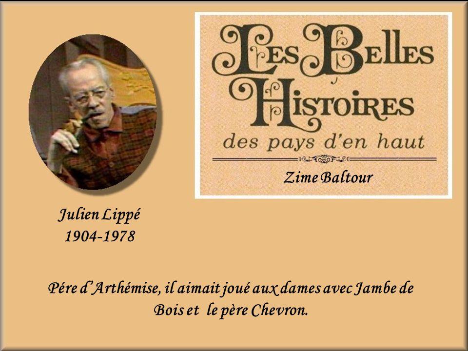 Zime Baltour Julien Lippé. 1904-1978.