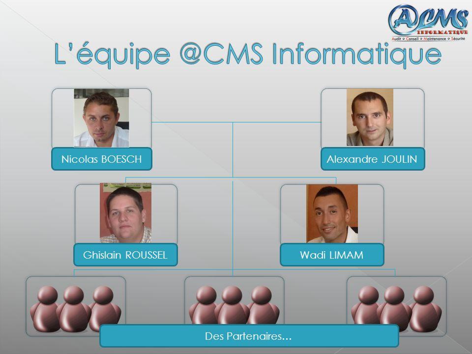 L'équipe @CMS Informatique