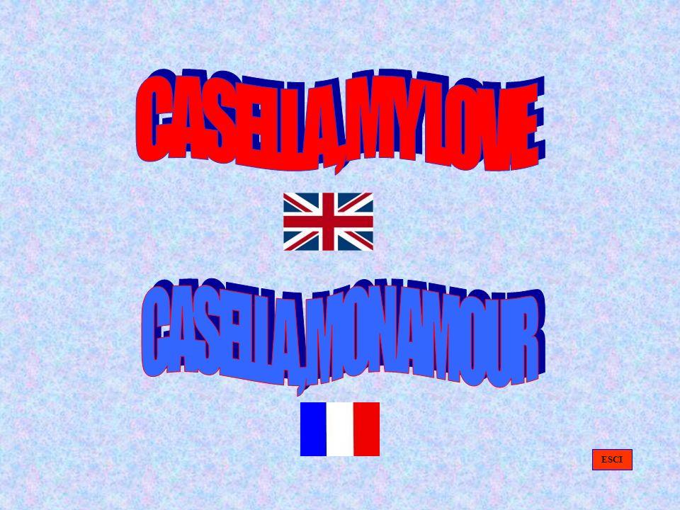 CASELLA, MY LOVE CASELLA, MON AMOUR