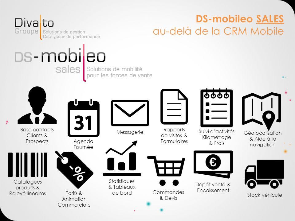 DS-mobileo SALES au-delà de la CRM Mobile