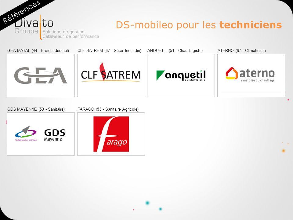 DS-mobileo pour les techniciens