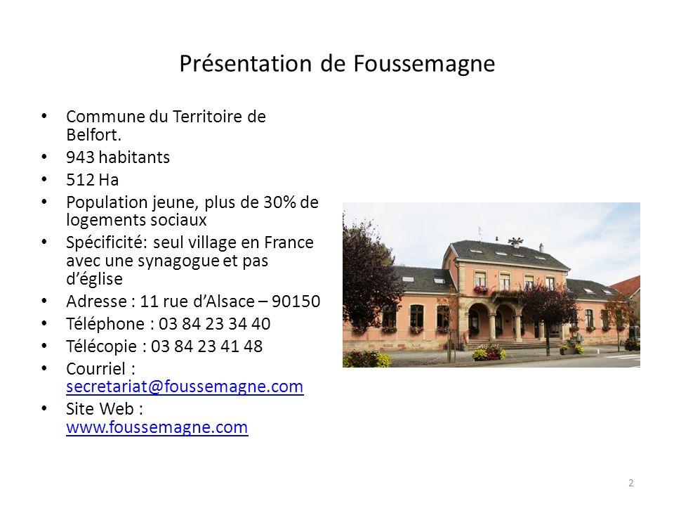 Présentation de Foussemagne