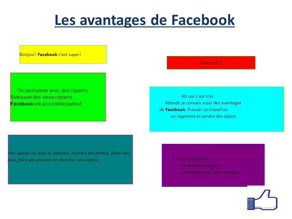 Les avantages de Facebook