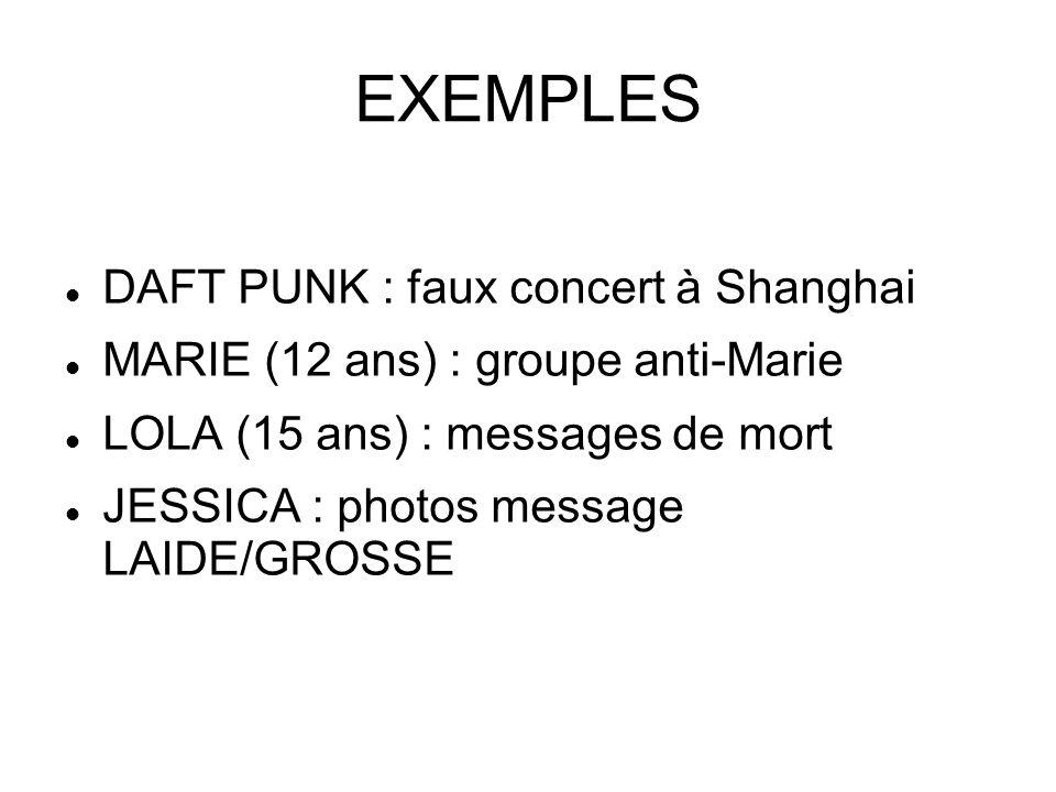 EXEMPLES DAFT PUNK : faux concert à Shanghai