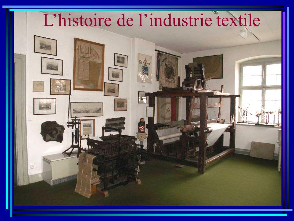 L'histoire de l'industrie textile