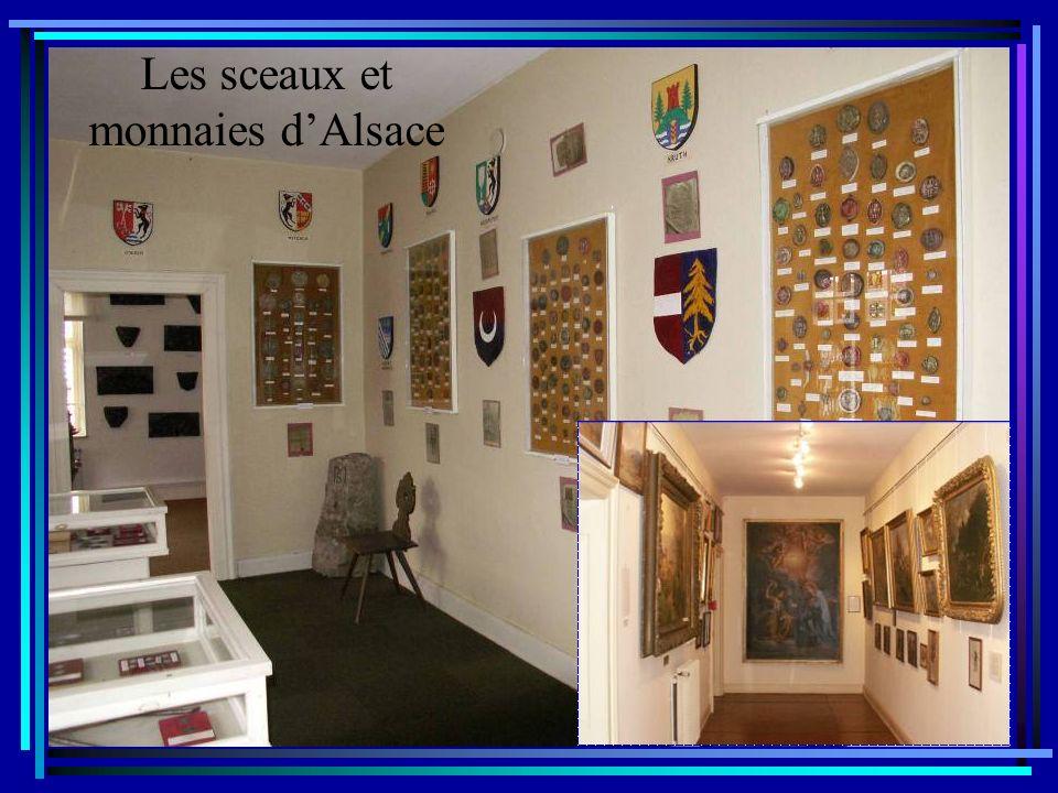 Les sceaux et monnaies d'Alsace