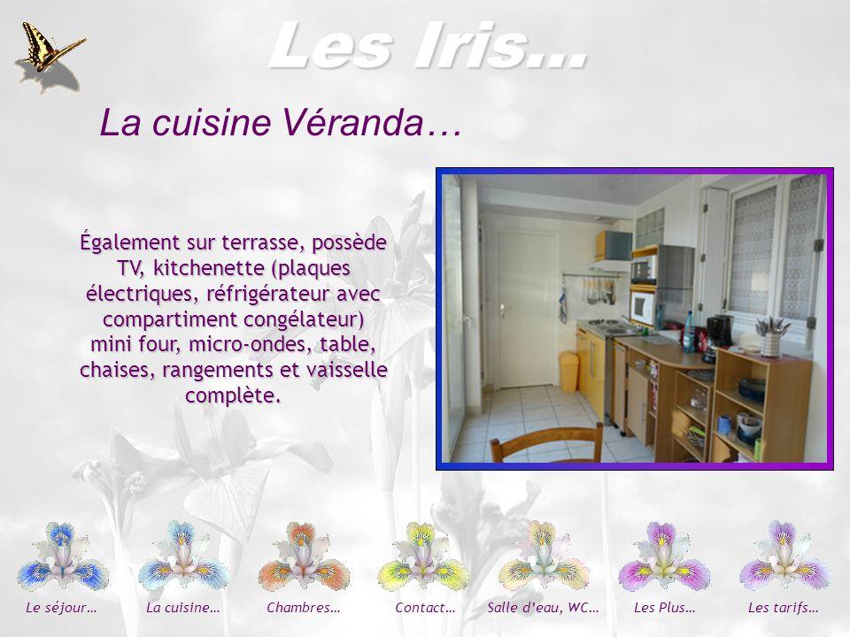 Les Iris… La cuisine Véranda…