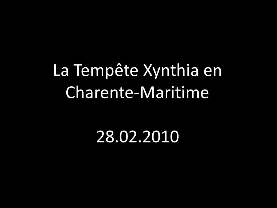 La Tempête Xynthia en Charente-Maritime
