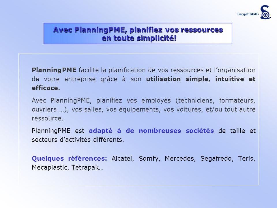 Avec PlanningPME, planifiez vos ressources en toute simplicité!