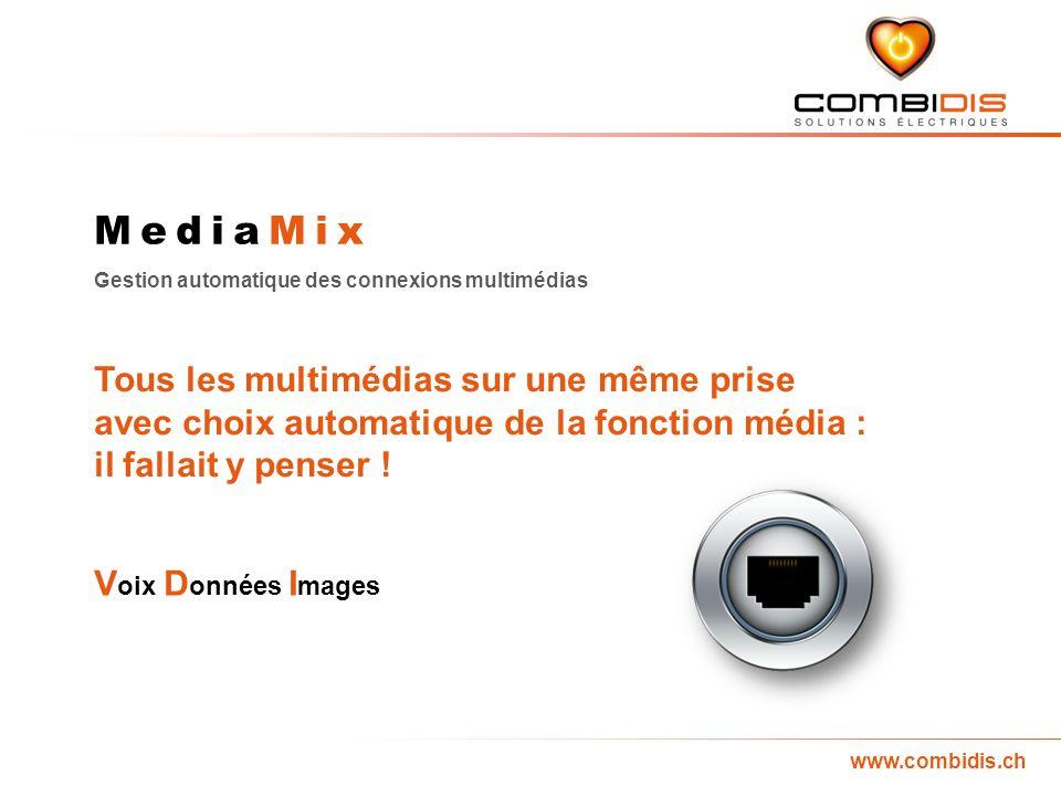 MediaMix Tous les multimédias sur une même prise